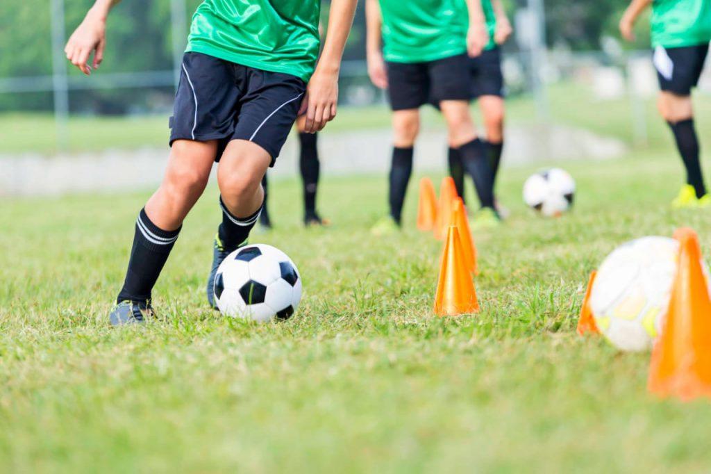 Детский футбольный летний лагерь